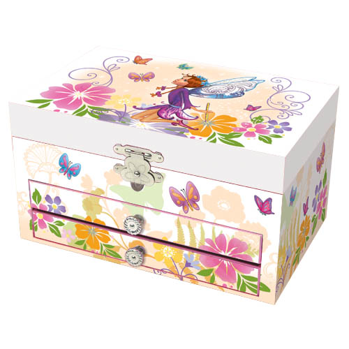 Musical paperwrap jewellery box