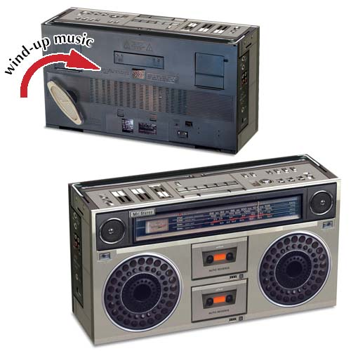 Double Cassette & Radio Player SMB-701